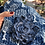 Thumbnail: Spilla fiore in jeans azzurro