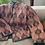 Thumbnail: Giacchino velluto reversibile rosa e salvia