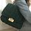Thumbnail: Borsa cartella crochet verde muschio