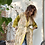 Thumbnail: Kimono cotone leggermente trapuntato ocra