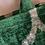 Thumbnail: Borsa shopper velluto verde smeraldo
