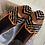 Thumbnail: Mocassino velluto marrone nero Allegraeclecticdesign