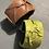 Thumbnail: Bracciale in pelle color verde oliva