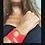 Thumbnail: Bracciale nastro seta fermaglio bronzo