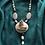 Thumbnail: Collana artigianale pietre dure e resina