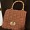 Thumbnail: Borsa cartella color terracotta