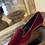 Thumbnail: Mocassino velluto rosso/bordeaux