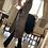 Thumbnail: Cappottino spolverino lana rombi velluto azzurro carta da zucchero