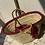Thumbnail: Borsa grande paglia rosso scuro
