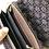 Thumbnail: Portafoglio uncinetto marrone