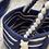 Thumbnail: Borsecchiello  beige e blu mare