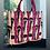 Thumbnail: Borsa velluto animalier pink(due formati)