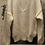 Thumbnail: Maglione a V Biancaneve, in lana, ai ferri, fatto a mano