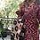 Thumbnail: Giaccone-kimono lana ikat magenta