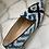 Thumbnail: Mocassini a punta velluto blu nero