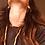 Thumbnail: orecchini ovali in bronzo SLIM