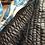 Thumbnail: Giaccone trapuntato ikat azzurro turchese e nocciola