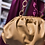 Thumbnail: Borsa posh caramello tracolla luxury