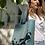 Thumbnail: Borsa shopper grande plastica riciclata azzurra