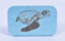 珪藻土 亀彫刻