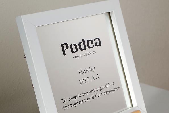 Podea ミラーアクリルイメージ図