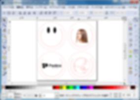 InkScapeでマルチレイヤー加工データ作成