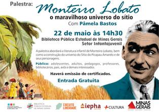 // Palestra Monteiro Lobato