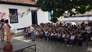 // Abolição da escravatura foi tema de debates e apresentações no Casarão