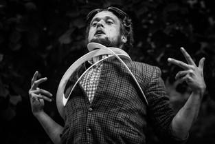 // Palhaço francês é atração internacional neste fim de semana no Teatro Preqaria