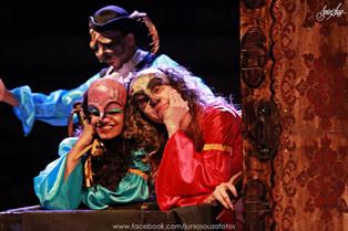 // Teatro Preqaria recebe comédia de Shakespeare