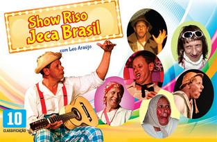 // Show Riso Jeca Brasil em única apresentação