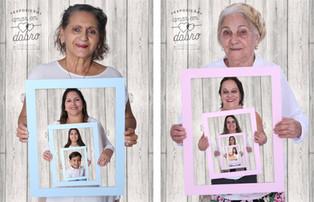 """// Exposição """"Amor em Dobro"""" homenageia avós no Shopping Sete Lagoas"""