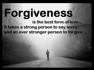 Forgiveness - the best gift you will give yourself