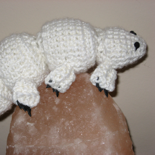 Crocheted Tardigrade