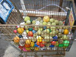So many balls!