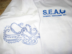 Logos on T-shirt