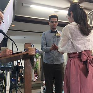 2019年6月2日 J兄・Y姉結婚の誓約の時~ウェディングシャワー