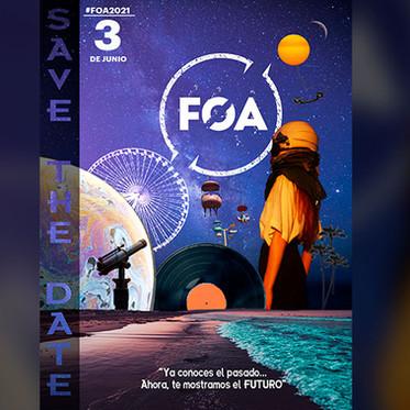 #FOA2021: 'Ya conoces el pasado... Ahora, te mostramos el Futuro'.