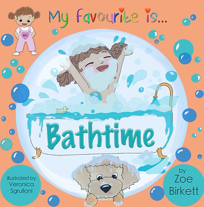 My Favourite Is... Bathtime (Audio Book)