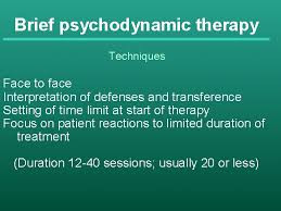 Brief Psychodynamic Therapy Techniques