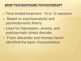 Brief Psychodynamic Psychotherapy