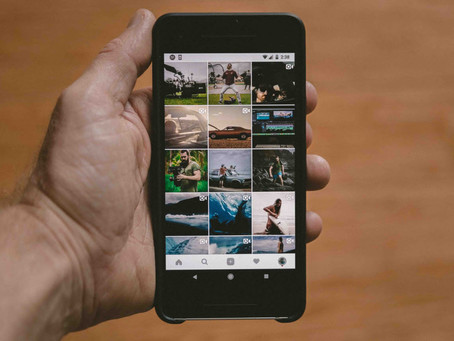 How to visually plan your Instagram posts effectively. This is how they do it...