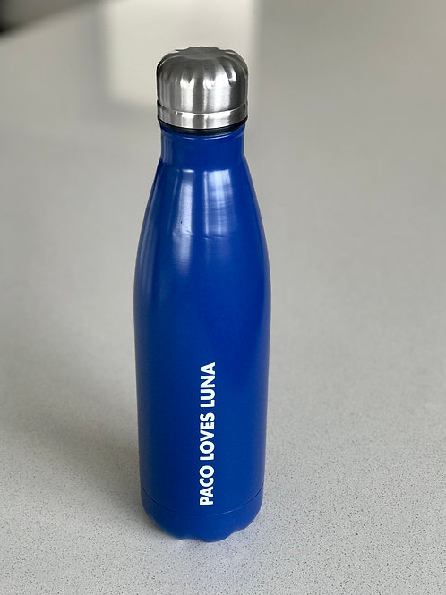 Aluminium Water Bottle - Blue