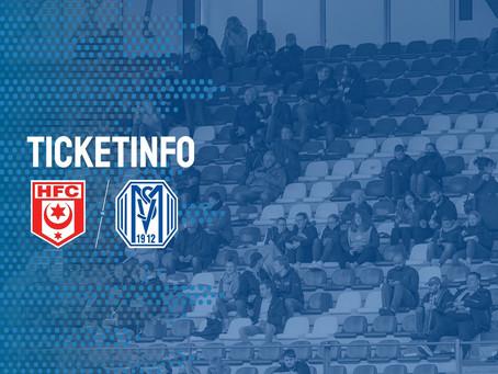Ab morgen: Tickets für erstes Saisonspiel auswärts gegen den Halleschen FC erhältlich