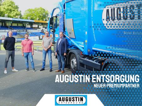 Augustin Entsorgung wird Premiumpartner des SV Meppen