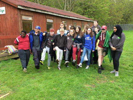 Youth Parliament in the Great Outdoors