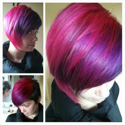 Warm to Cool colour melt