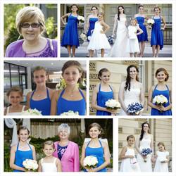 Danielle's Wedding party