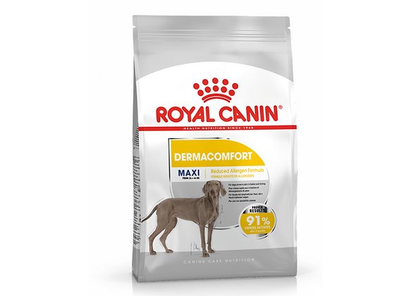 CROQUETTES CHIEN ROYAL CANIN® MAXI DERMACOMFORT - 3KG