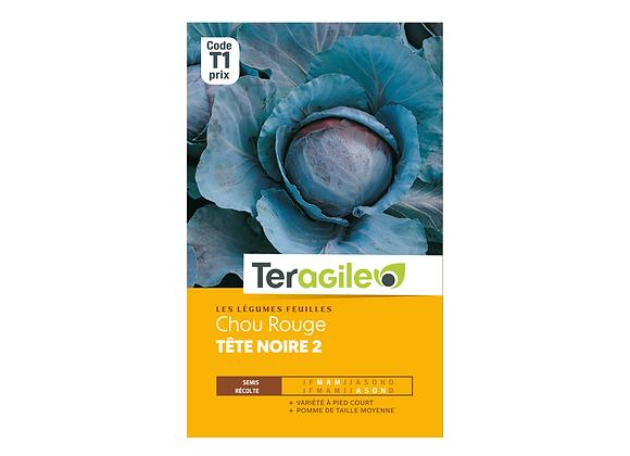 GRAINES CHOU ROUGE TÊTE NOIRE 2 2G TERAGILE®